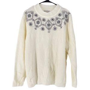 Alfred Dunner Women's Chenille  Mock Neck Sweater